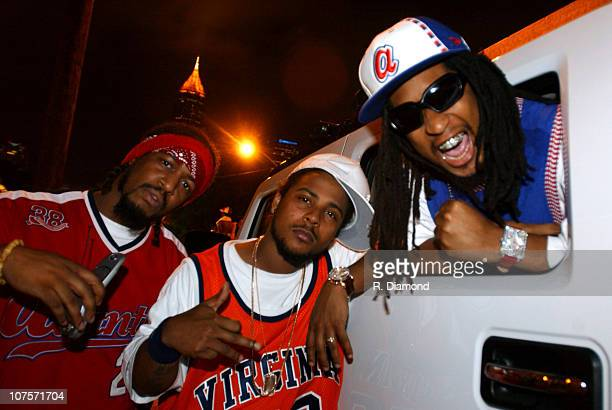 JBo and Sean Paul of Youngbloodz with Lil' Jon