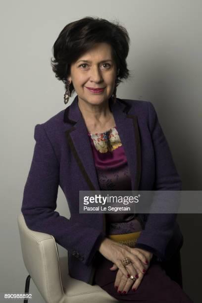 JCDecaux General Director of Business Marketing Development Isabelle Schlumberger attends the Paris Luxury Summit 2017 at Theatre Des Sablons on...