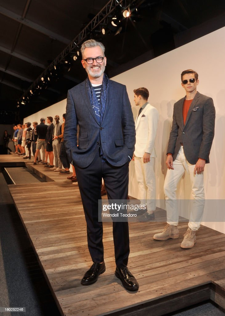 J.Crew Designer Frank Muytjens attends the J.Crew presentation during Spring 2014 Mercedes-Benz Fashion Week at The Studio at Lincoln Center on September 10, 2013 in New York City.