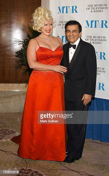 Jean and Casey Kasem during The Museum of Television and Radio Annual Los Angeles Gala Arrivals at The Beverly Hills Hotel in Beverly Hills...