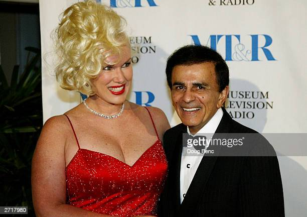 Jean and Casey Kasem pose before the Museum of Television Radio's Annual Los Angeles Gala on November 10 2003 at the Beverly Hills Hotel in Beverly...