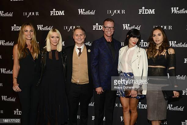 Jean Ann Williams Zanna Roberts Rossi Jason Binn Shaun Swanger Athena Calderone and Rumi Neely attend DuJour Magazine's Jason Binn celebrates fashion...