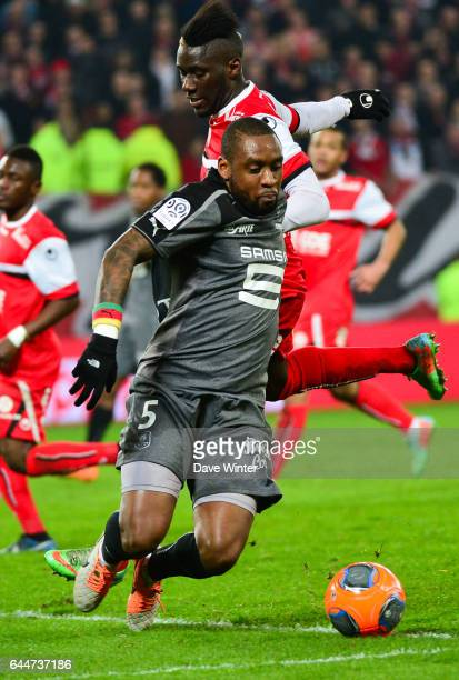 Jean Armel KANA BIYIK / Arthur MASUAKU Valenciennes / Rennes 28e journee Ligue 1 Photo Dave Winter / Icon Sport