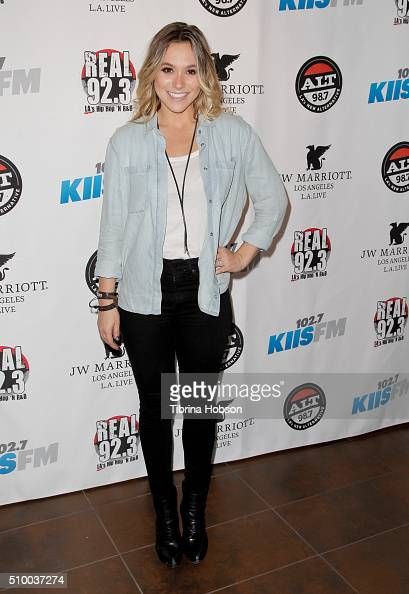 Jean attends Alt 987 1027 KIIS FM and REAL 923's 2016 GRAMMY Awards celebration at The Mixing Room at the JW Marriot Los Angeles on February 12 2016...
