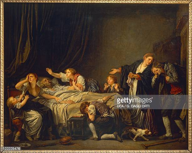 Jean Baptiste Greuze The Father's Curse The Punished Son oil on canvas 130x163 cm