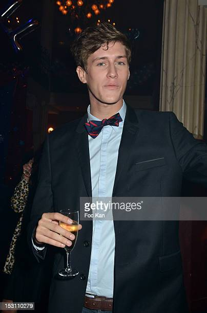 Jean Baptiste Maunier attends the Jalouse 15th Anniversary Party Spring / Summer 2013 show as part of Paris Fashion Week at Salle Wagram on September...
