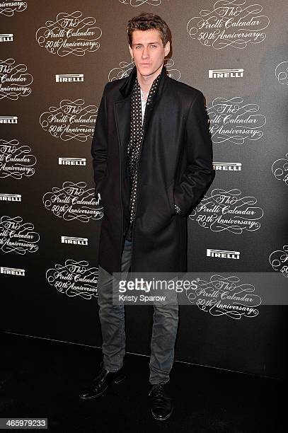Jean Baptiste Maunier attends the 'Pirelli 50th Anniversary Party' at Palais De Tokyo on January 30 2014 in Paris France