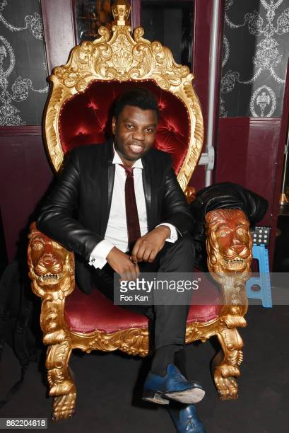 Jean Barthelemy Bokassa attends the 'Souffle de Violette' Auction Party As part of 'Octobre Rose' Hosted by Ereel at Fidele Club on October 16 2017...
