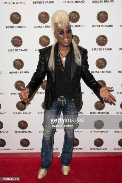 Jean Beauvoir attends the Bergen Brand Handbag launch at Wolf Badger on March 16 2017 in London England