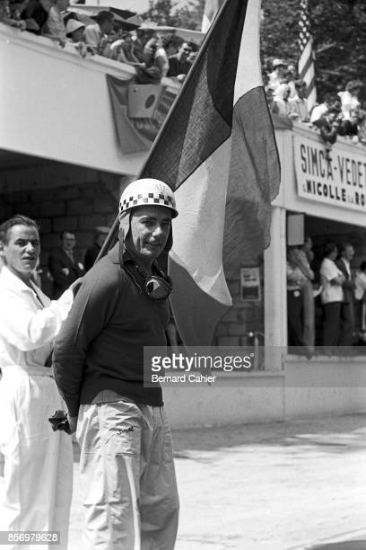 Jean Behra Grand Prix of France RouenLesEssarts 07 July 1957