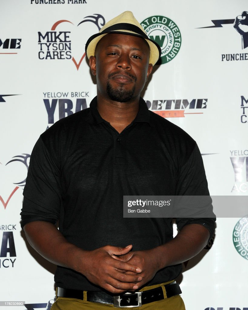 Jean Borgella attends the 'Puncher's Mark' Indiegogo Fundraiser Kick Off at Duane Park on August 27, 2013 in New York City.