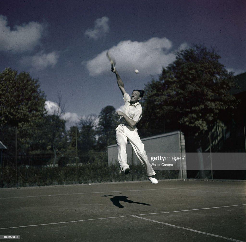 Jean Borotra Tennis Player