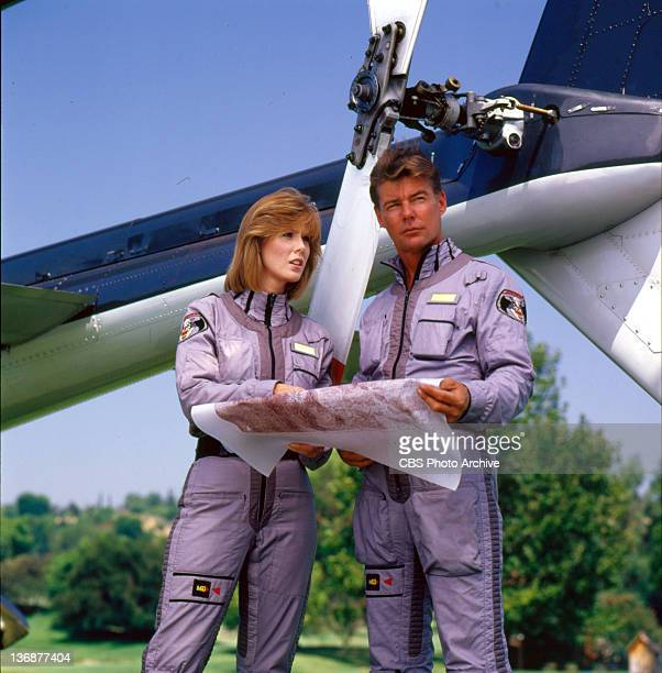 Jean Bruce Scott and JanMichael Vincent on AIRWOLF