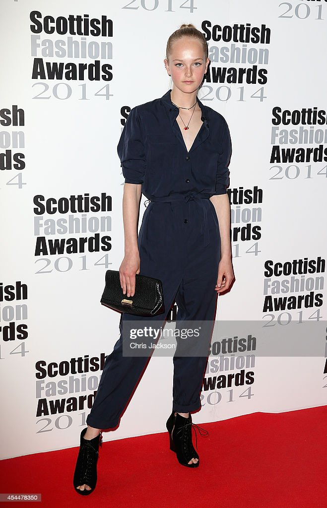 Jean Campbell attends The Scottish Fashion Awards on September 1, 2014 in London, England.