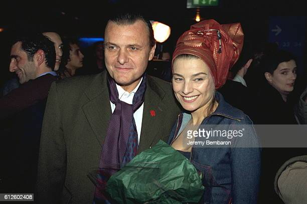 Jean Charles de Castelbajac and Elli Medeiros at the UGC Cine Cite Bercy
