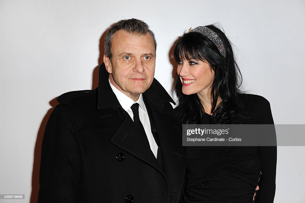 Jean Charles de Castelbajac and Mareva Galanter attend 'Madame Figaro' 30th Anniversary Party, at Salle Wagram in Paris.
