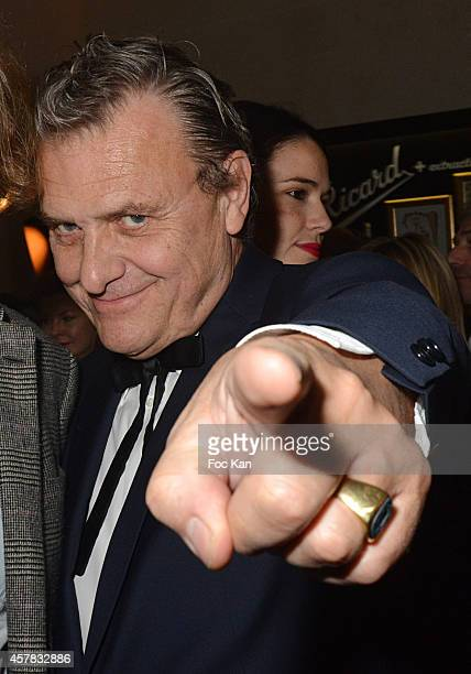 Jean Charles de Castelbajac attends the 'Bal Jaune' Dinner Party hosted by Fondation Ricard at the Hotel Salomon de Rothschild on October 24 2014 in...