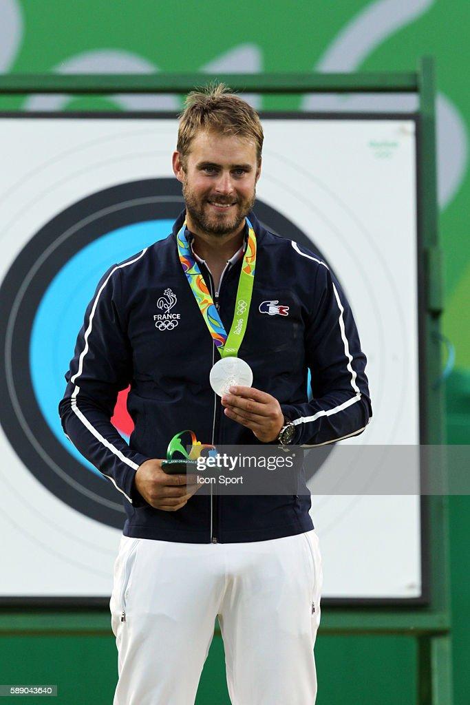 Jean Charles Valladont Médaille d'Argent Rio 2016