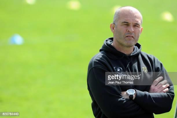 Jean Christophe BACCA Entraineur Albi Lyon OU / Albi 26e journee Pro D2