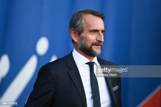 Jean Claude Blanc of PSG during the Ligue 1 match between Paris SaintGermain and SM Caen at Parc des Princes on May 20 2017 in Paris France