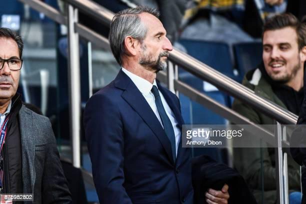 Jean Claude Blanc of PSG during the Ligue 1 match between Paris Saint Germain and Nantes at Parc des Princes on November 18 2017 in Paris