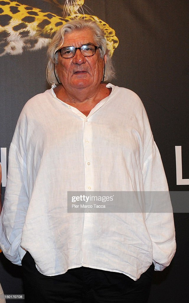 Jean Claude Brisseau attends the winners red carpet during the 65th Locarno Film Festival on August 11, 2012 in Locarno, Switzerland.