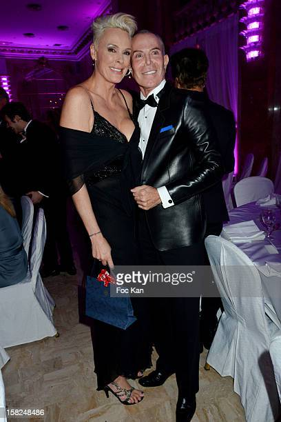 Jean Claude Jitrois and Brigitte Nielsen attend the The Bests Awards 2012 Ceremony at the Salons Hoche on December 11 2012 in Paris France