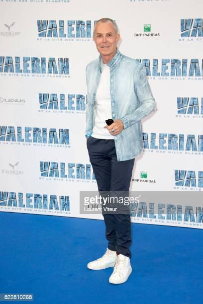Jean Claude Jitrois attends 'Valerian et la Cite desMille Planetes' Paris Premiere at La Cite Du Cinema on July 25 2017 in SaintDenis France