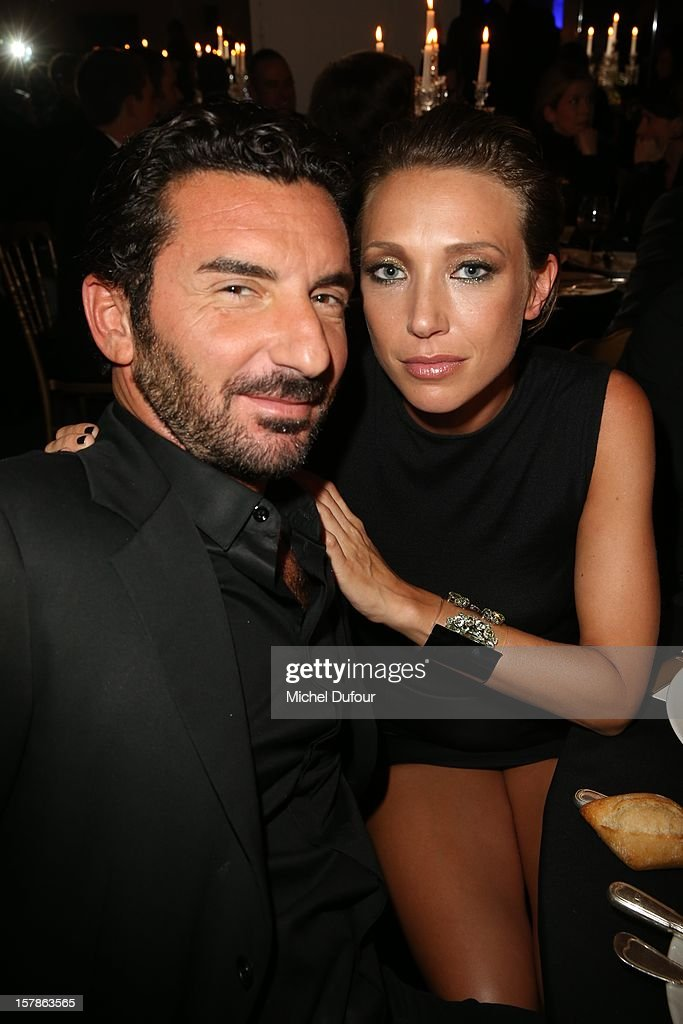 Jean Claude Sindres and Laura Smet attend the Babeth Djian Hosts Dinner For Rwanda To The Benefit Of A.E.M. on December 6, 2012 in Paris, France.