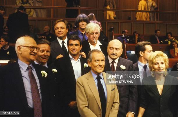 Jean d'Ormesson Nicolas Sarkozy Georges Kiejman Michel Boujenah Andre Glucksmann et bien d'autres sont les invites de l'emission de television 'Les...