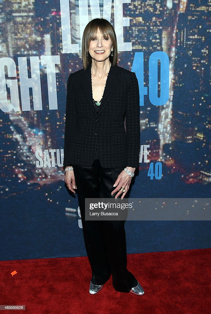 Jean Doumanian attends SNL 40th Anniversary Celebration at Rockefeller Plaza on February 15, 2015 in New York City.
