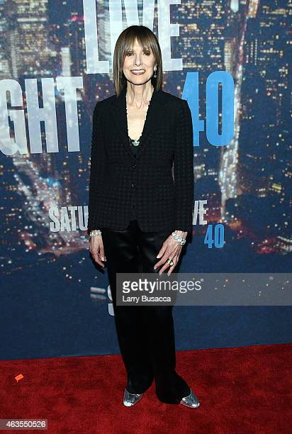 Jean Doumanian attends SNL 40th Anniversary Celebration at Rockefeller Plaza on February 15 2015 in New York City