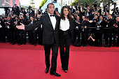 Jean Dujardin and Berenice Bejo at the premiere of 'The Artist' during the 64th Cannes International Film Festival