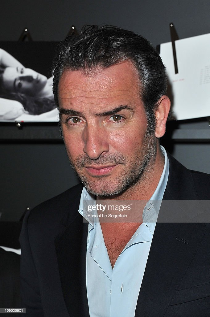 Jean Dujardin attends Chaumet's Cocktail Party for Cesar's Revelations 2013 on January 14 2013 in Paris France