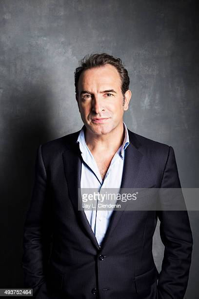 Jean Dujardin of 'Un Plus Une' is photographed for Los Angeles Times on September 25 2015 in Toronto Ontario PUBLISHED IMAGE CREDIT MUST READ Jay L...
