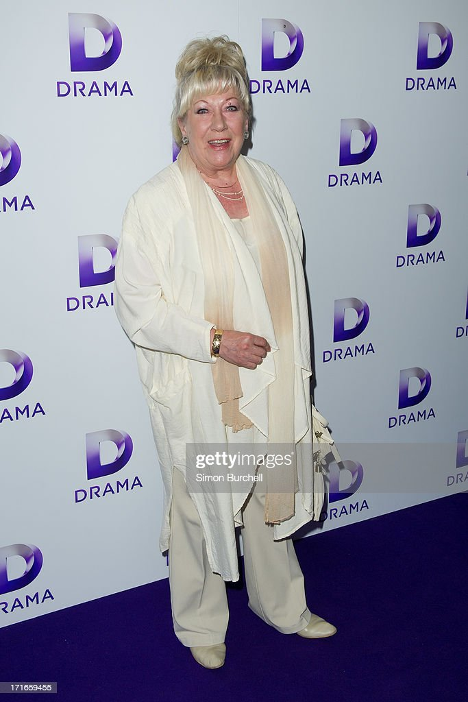 Jean Fergusson attends the launch of the new UKTV channel 'Drama' on June 27, 2013 in London, England.