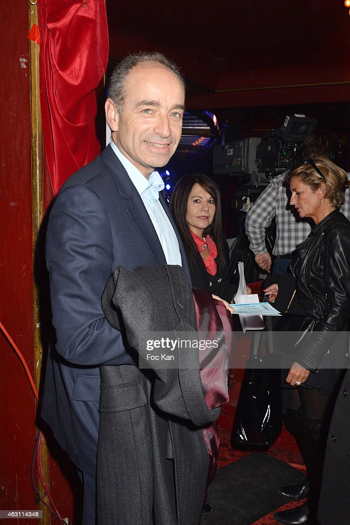 Jean Francois Coppe attends 'La 3eme Nuit De La Deprime 2015 ' At Folies Bergeres on February 9, 2015 in Paris, France.
