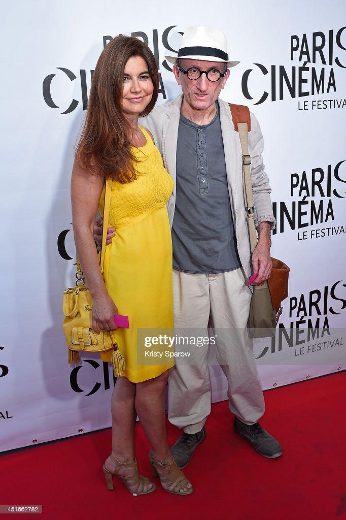 Jean Francois Derec (R) attends the Festival Paris Cinema Opening Ceremony at Cinema Gaumont Capucine on July 3, 2014 in Paris, France.