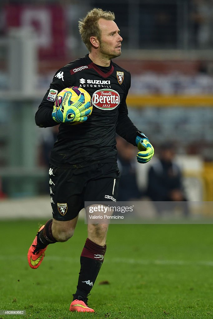 Jean Francois Gillet of Torino FC looks on during the Serie A match betweeen Torino FC and Genoa CFC at Stadio Olimpico di Torino on December 21, 2014 in Turin, Italy.