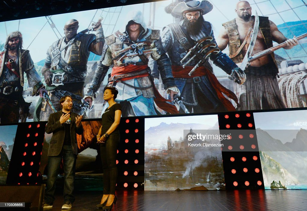 Jean Guesdon, creative director of Ubisoft Montreal, introduces Assassin's Creed