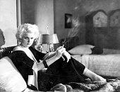 Jean Harlow formerly Harlean Carpentier the American 'platinum blonde' leading lady