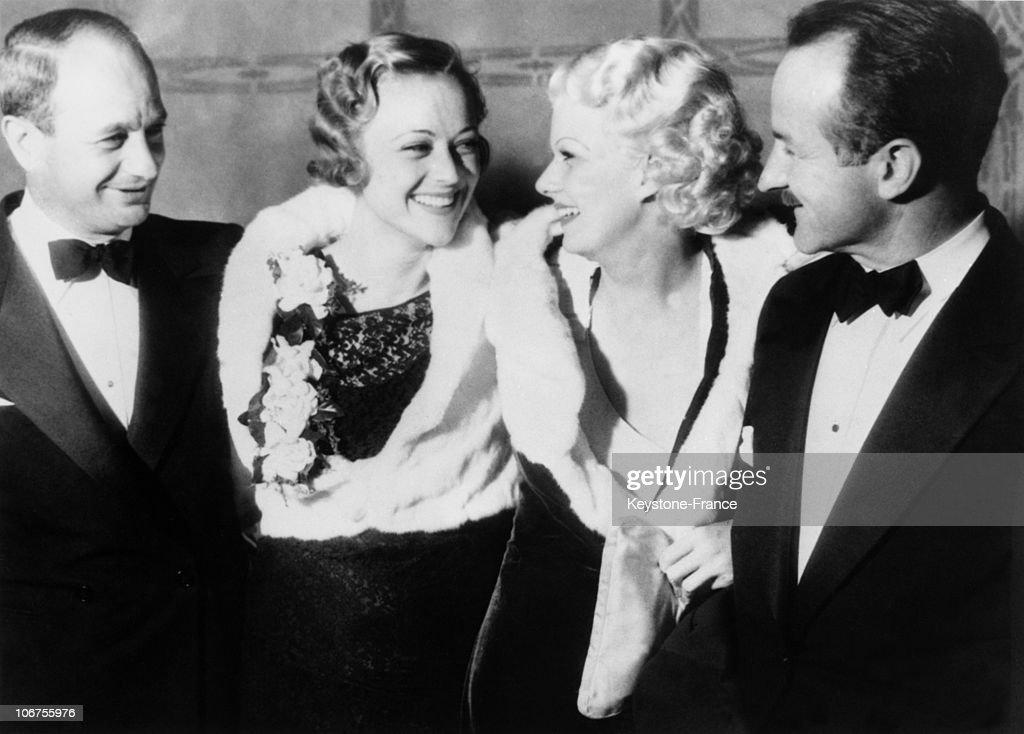 Jean Harlow, Sally Eilers, Joe Brown And Harold Rosson. 1944