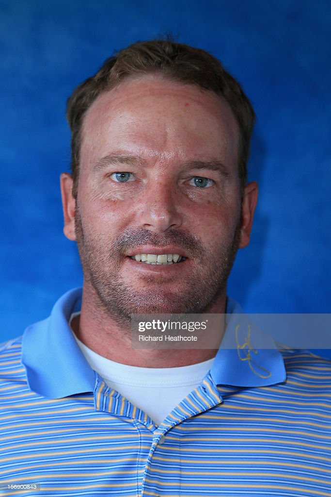 Jean Hugo of South Africa poses for a portrait after the first round of the European Tour Qualifying School Finals at PGA Catalunya Resort on November 24, 2012 in Girona, Spain.