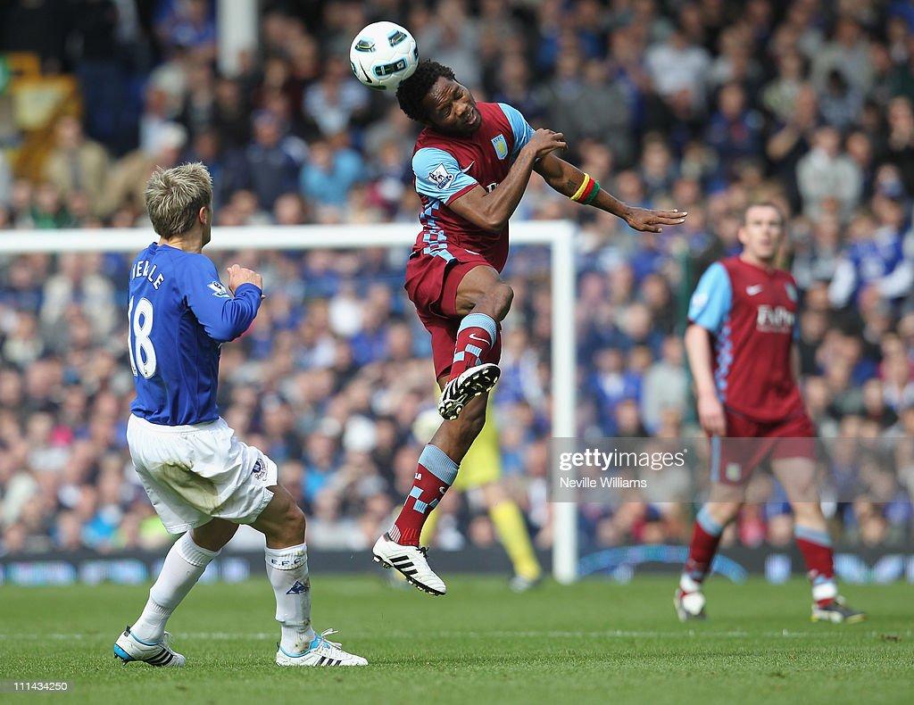Everton v Aston Villa - Premier League