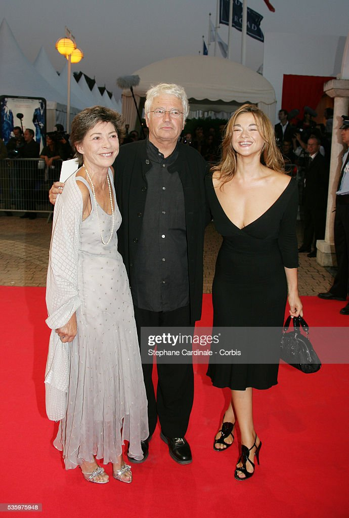 Jean Jacques Annaud with his wife and their daughters at the opening ceremony of the 31st American Deauville Film Festival.