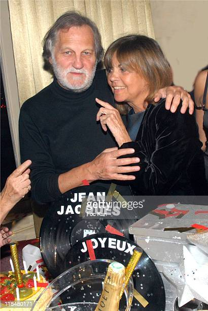 Jean Jacques Debout and Chantal Goya during Jean Jacques Debout Birthday Party March 9 2007 at Club De L'Etoile in Paris France