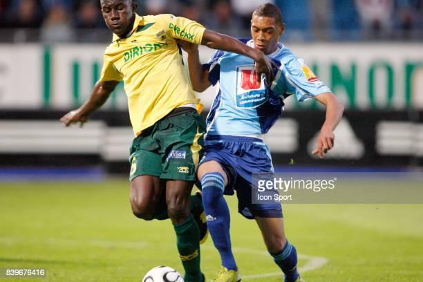 Jean Jacques PIERRE / Guillaume HOARAU Le Havre / Nantes 4eme journee de Ligue 2