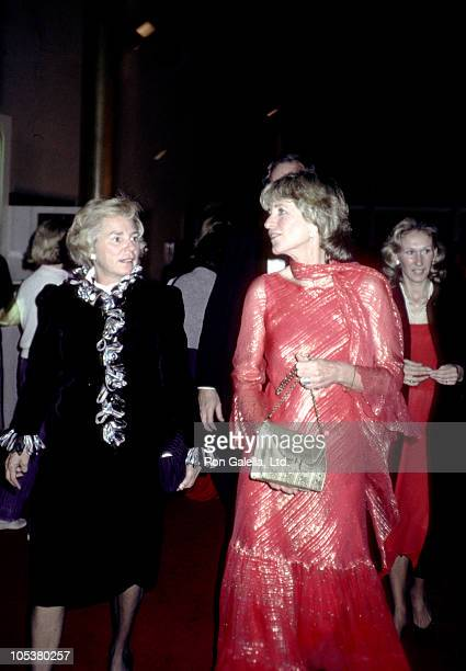 Jean Kennedy Smith and Ethel Kennedy during 5th Kennedy Center Honors in Washington DC Maryland United States