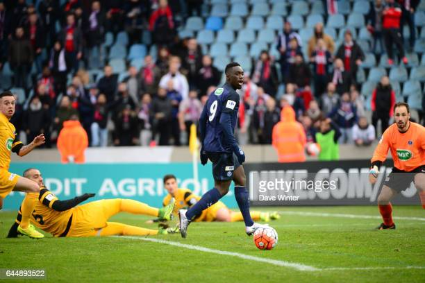 Jean Kevin AUGUSTIN Wasquehal / PSG 32es Coupe de France Photo Dave Winter / Icon Sport