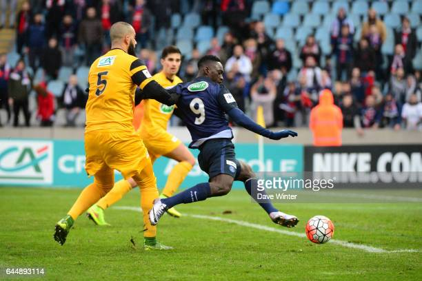 Jean Kevin AUGUSTIN / Adil QRITA Wasquehal / PSG 32es Coupe de France Photo Dave Winter / Icon Sport